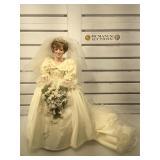 The Danbury Mint porcelain Princess Diana doll,