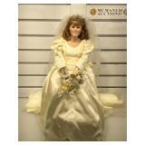 The Danbury Mint porcelain Princess Sarah Doll,