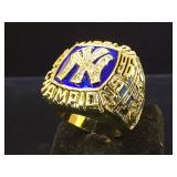 Replica, Yankees  WorldChamps 1996 ring, size 10