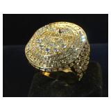 Replica Kobe Bryant 20 Year ring, size 10.5