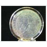 Hobo style replica Dollar, (Mona Lisa)