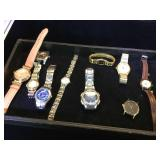 10 - Watches, (as is), Elgin, Fossil , Casio &
