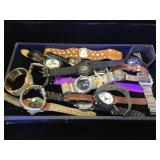 Large assortment of watches, Geneva,Marco Max &