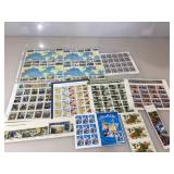 Unused Stamps, approx. face value $60, Marines,