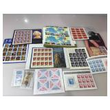 Unused Collectible stamps, approx. face value