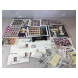 Assortment of  collectable canceled stamps , s