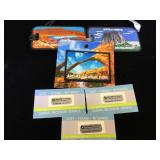 Set of National Monument patches & Global