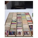Mixed lot of sports cards