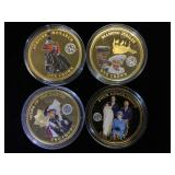 4- One Crown colorized 2014 Coins