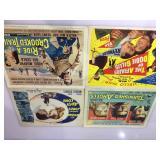 4- Vintage Lobby Cards, Audie Murphy & more
