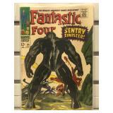 1967 Marvel Fantastic Four comic #64