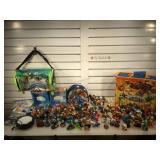 Sky Lander Giants toy sets & cards & Jack in the