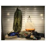 Military duffle bag & more