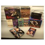 War time VHS tapes, warbirds, space race,