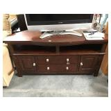 5 foot long wood tv stand - tv not included