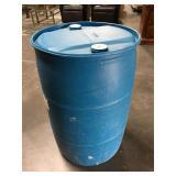 Plastic 50 gallon water barrel