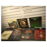 15 vintage vinyl albums, Cream, Boston,