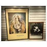 Susan Seddon Boulet print framed to 25 x 37