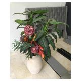 Prop decorative plant w/ceramic vase, approx 50