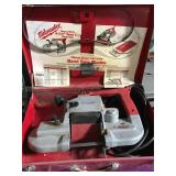Milwaukee heavy duty portable band saw with case