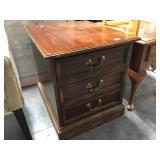 Wood Sligh file cabinet