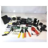 Misc electronics, computer parts & external hard
