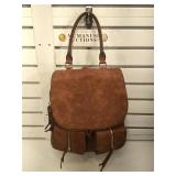 Sole Society leather backpack handbag
