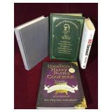 4 hardcover books
