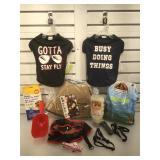 Animal care & accessories lot