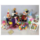 Vintage Anna Lees clowns