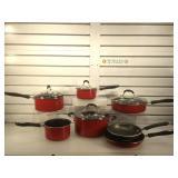 Cuisinart pots & pans & porcelain enamel pan