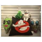 Ghost Busters pillow & plushes & the Weirds