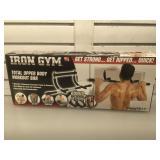 NIB Iron Gym workout bar