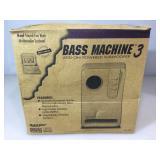 Bass machine 3 add on powered subwoofer