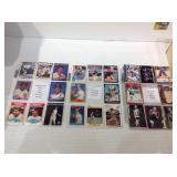 Mixed card lot 3 sheets