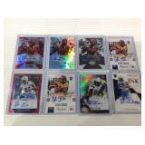 Titus Davis autographed card lot