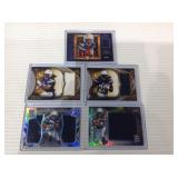 Melvin Gordon jersey card lot