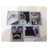 Philip rivers jersey card lot