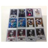 18 Chargers card lot