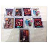 9 card jordan lot