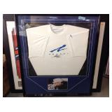 Framed auto Andre Agassi tennis star