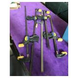 Lot of clamps - Quick-Grip and more