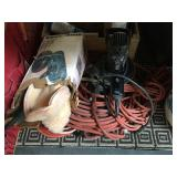 Pair of buffers and extension cords