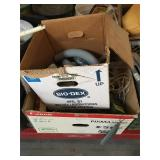 Lot of painting supplies and more