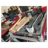 Lot of concrete tools and more