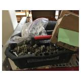 Lot of cabinet hardware and more