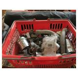 Lot of electrical conduit parts and more