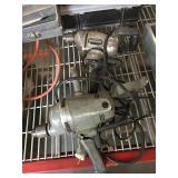 Pair of large electric drills - one has broken