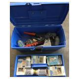 Pop rivet set in toolbox
