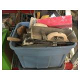 Lot of trowels and more